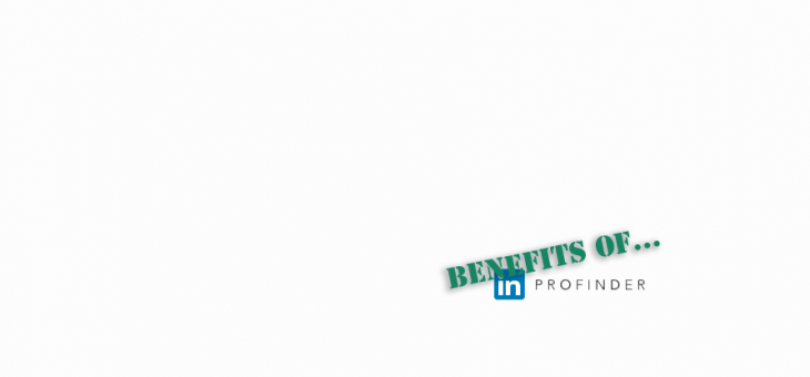 Benefits of LinkedIn's ProFinder Service