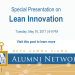 Beta Gamma Sigma Austin May Event