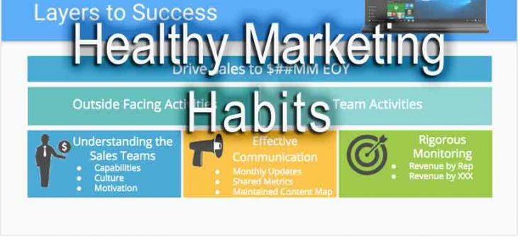 Healthy Marketing Habits